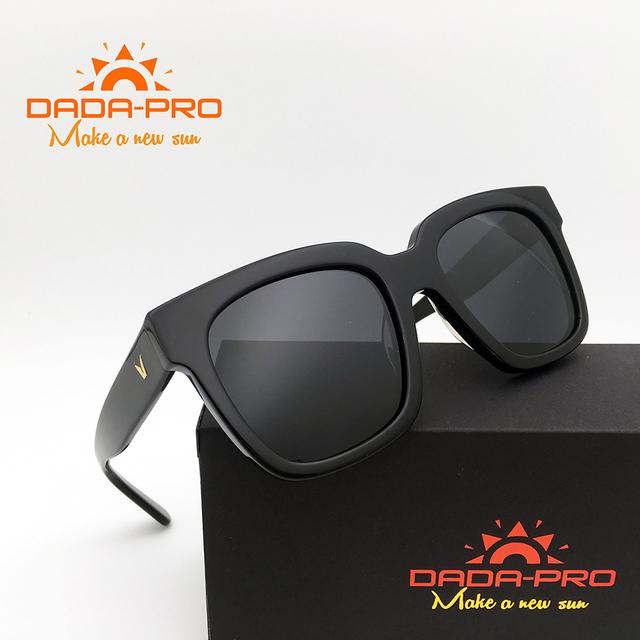 Dada-Pro Marca Designer Polarized V Korea Sonhador Gentil Homens óculos de Sol Óculos de Sol Do Vintage de Luxo Em Massa GM Gafas Oculos óculos De Sol