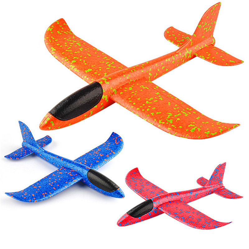 2018 New Hand Launch Glider Foam Toy Plane Model , Horizontal Flying & Spiral Flying airplane made of foam plastic image