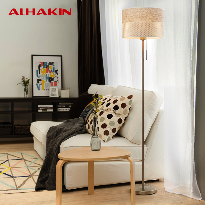 Alhakin Modern European Floor Lamp H150cm Metal Cloth