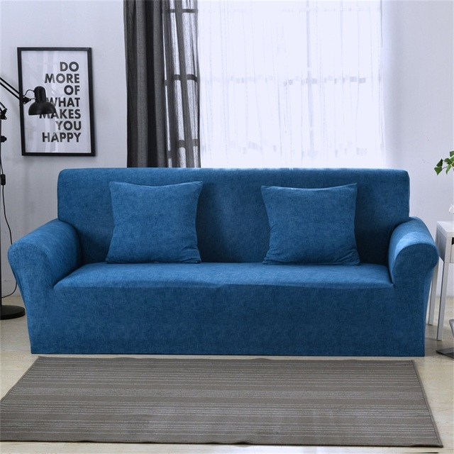 Elastic Stretch Universal Sofa Covers Sectional Throw Couch Corner Cover Cases for Furniture Armchairs Home Decor