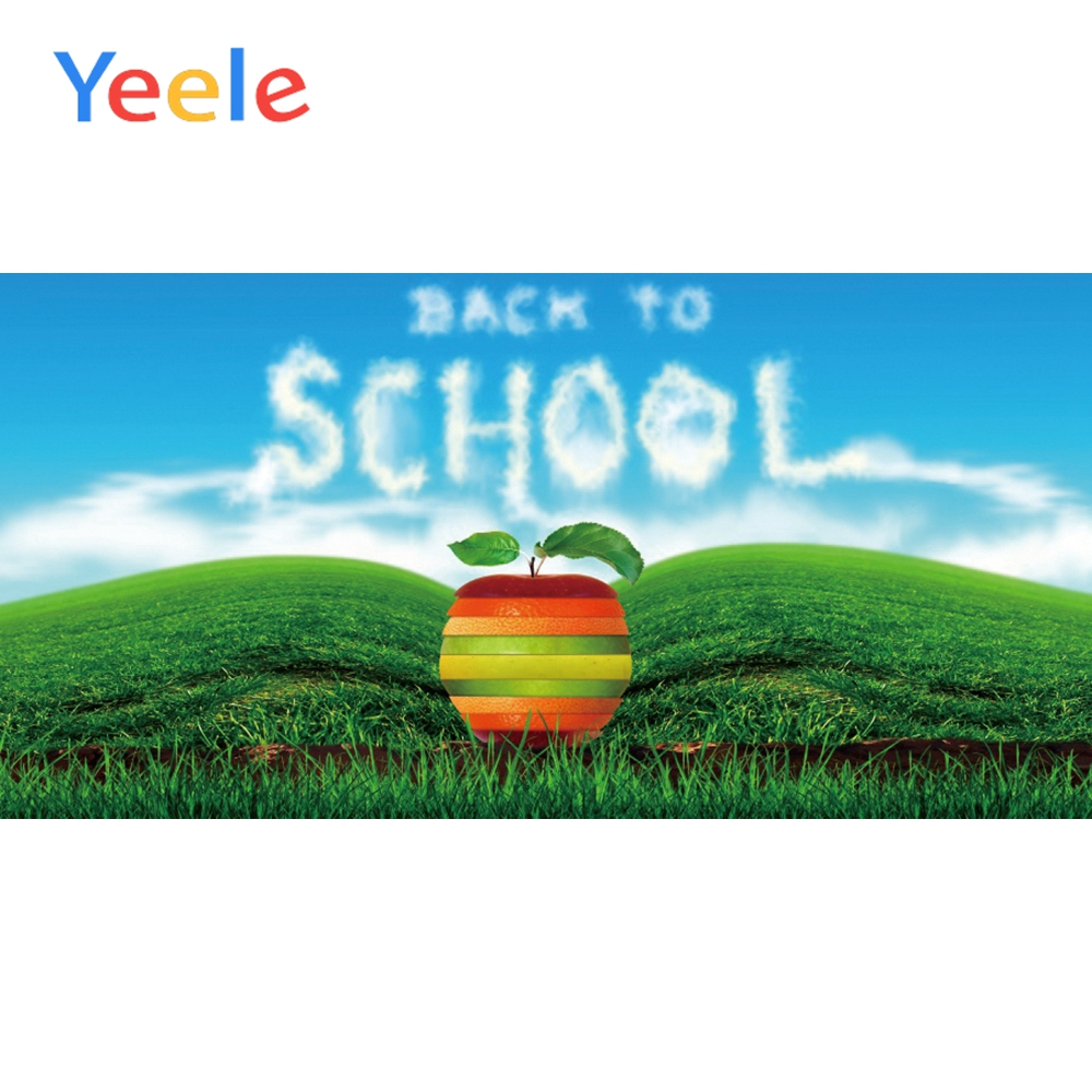 Yeele Back To School Natural Backgrounds Portrait Scene Photography Beautiful Baby Photographic Backdrops Vinyl For Photo Studio in Background from Consumer Electronics