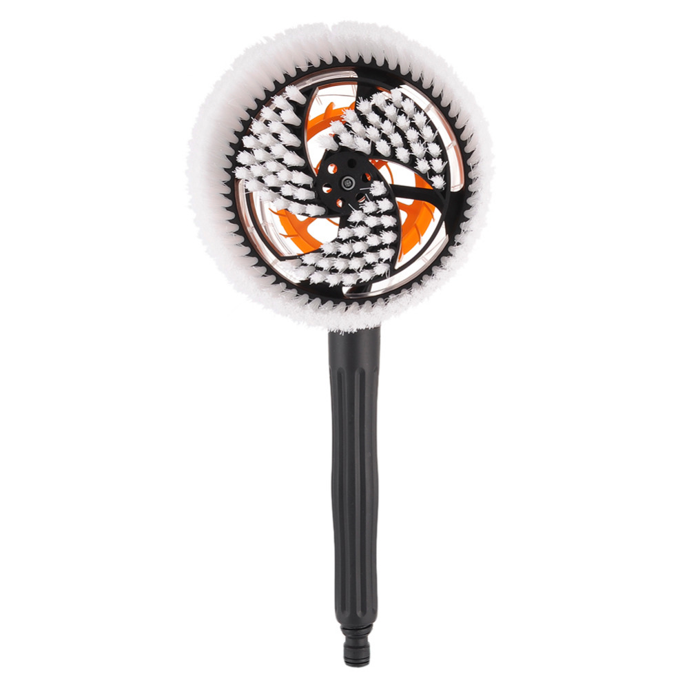 Car Wash Brush >> Car Cleaning Brush Portable Automatic Rotary Car Brush Durable Switch Water Flow Foam Brush Car ...