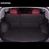 Custom car trunk mat for Ford all models Explorer Edge Everest Taurus kuga Ecosport ESCORT focus fiesta car styling accessories