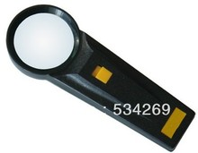 6X Removable Handheld Cheap Magnifiers with Light