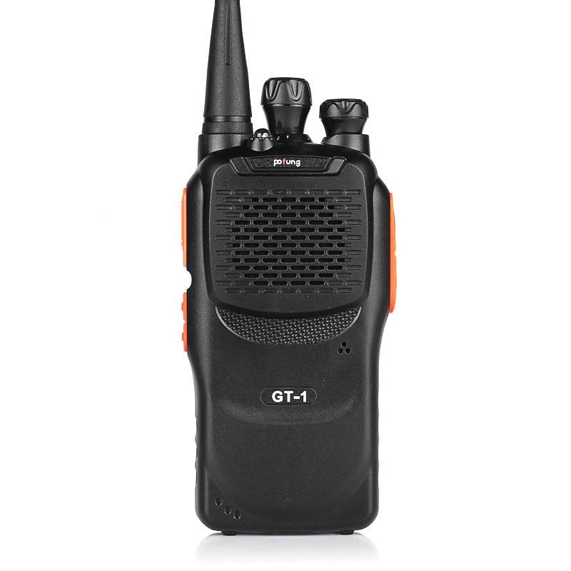 imágenes para Baofeng GT-1 Pofung UHF 400-470 MHz 5 W 16CH FM Jamón de Dos Vías de Radio Walkie Talkie Transceptor mucho Mejor Que BF-888s
