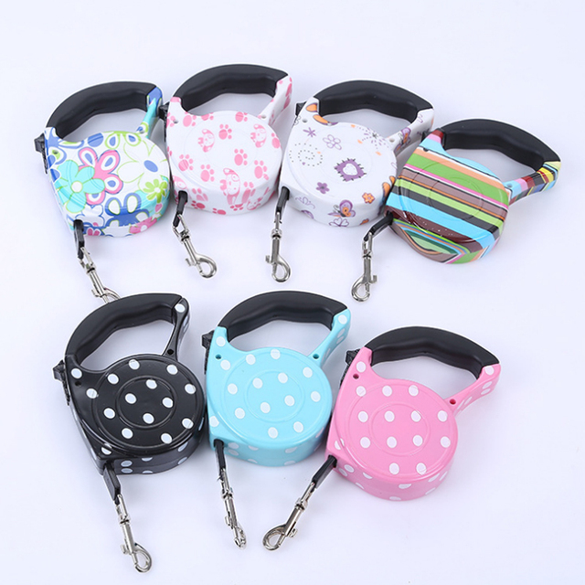 Automatic Retractable Leash for Small and Medium Dogs