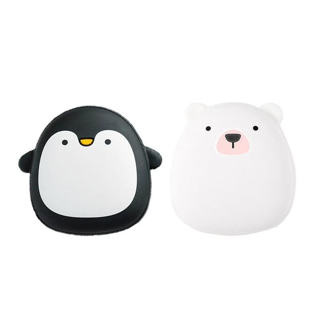 Cute Animal Shaped Rechargeable Rubber USB Hand Warmer
