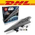 LEPIN 05028 3208 UNIDS Star Wars Building Blocks Super Star Destroyer Minis Modelo Juguetes de Los Ladrillos Compatible 10221