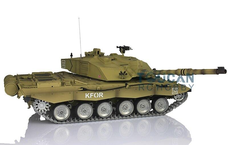 2.4Ghz Henglong 1/16 Challenger II RTR RC Tank Model Metal Tracks Sprockets 3908 challenger alpina 16 white pink