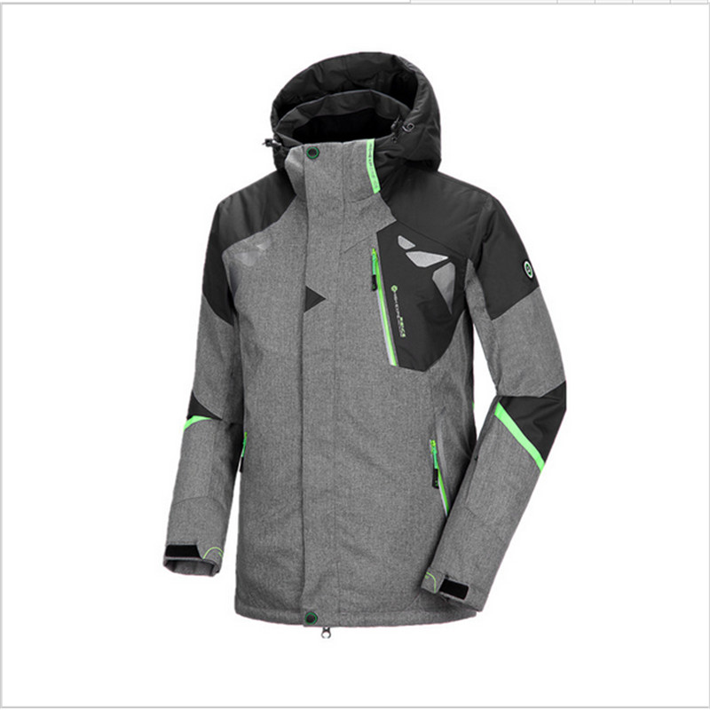 Prix pour HIGHT EXPÉRIENCE En Plein Air Hommes Vestes de Ski Snowboard Hiver Montagne Ski Vêtements D'hiver Neige Étanche Camping Manteau