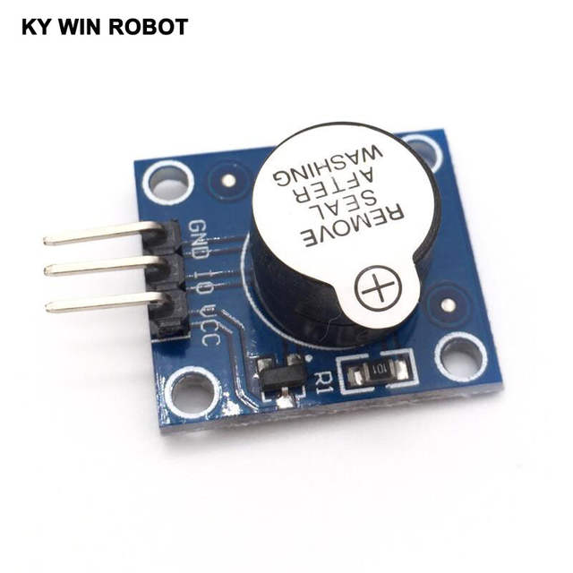 Keyes Active Speaker Buzzer Module for Arduino works with Official Arduino  Boards