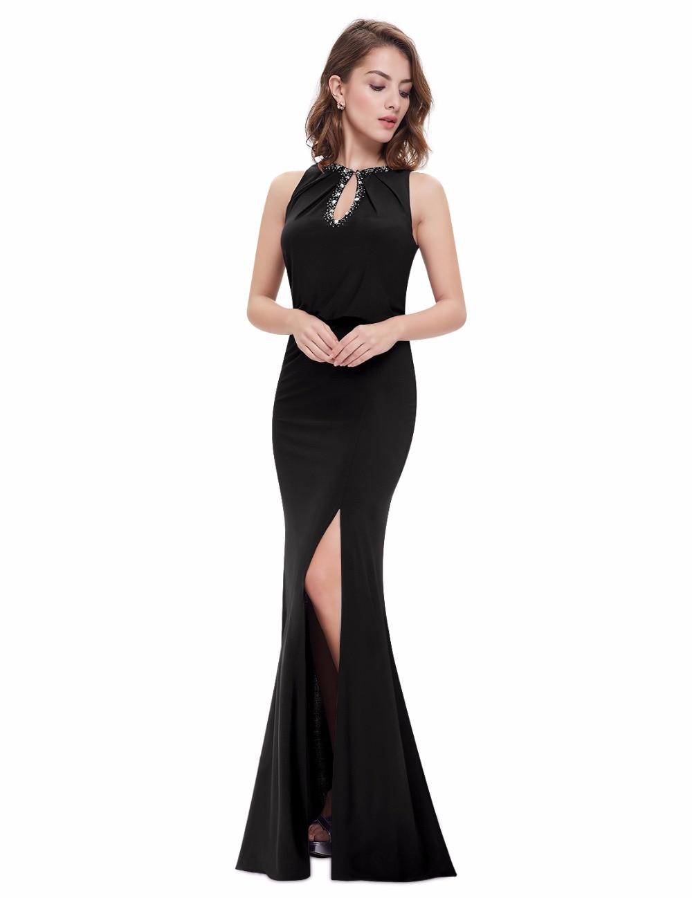 [Clearance Sale] Ever Pretty Women Vintage Evening Dresses A Line Elegant Sleeveless Side Split Formal Party Evening Dress