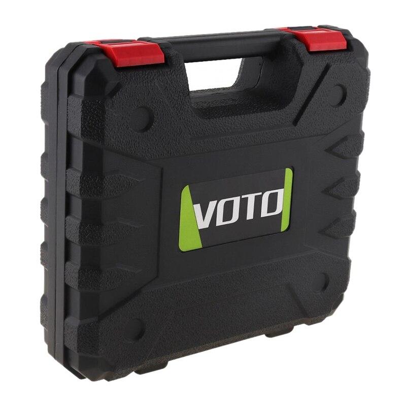 Voto Power Werkzeug Koffer 12V Elektrische Bohrer Gewidmet Werkzeug Box Lagerung Fall Mit 265mm Länge Für Lithium Elektrische schraubendreher