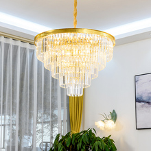 New Crystal Chandelier For Living Room Bedroom kitchern Home chandelier Modern Led Ceiling Chandelier Lamp Lighting chandelier american k9 crystal chandelier ceiling mediterranean minimalist home crystal chandelier tree chandelier ceiling lamp led fixture