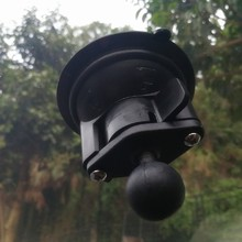 8cm Diameter Car Window Twist Lock Suction Cup Base with 1 inch Ball work with gopro camera and smartphone for ram mounts