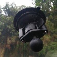 8cm de diâmetro janela do carro torção bloqueio ventosa base com 1 polegada bola trabalho com câmera gopro e smartphone para montagens ram