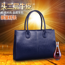 New Arrival Shipping Free 100% Genuine Leather Handbag Inclined Shoulder Bag 5 Color Women Handbags