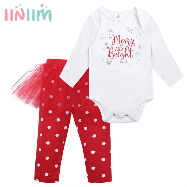 39be89802 2017 Xmas Christmas Baby Clothes 6 24M Newborn Baby Boys Girls Santa ...