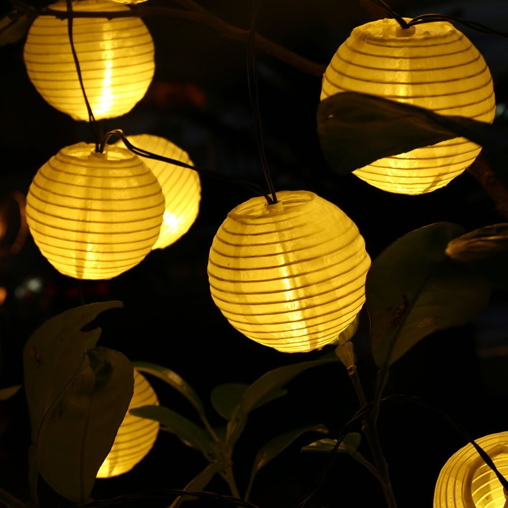 6m 30 led outdoor lighting lantern ball solar string lights fairy 6m 30 led outdoor lighting lantern ball solar string lights fairy globe christmas decorative solar lamp for party holiday deco in solar lamps from lights workwithnaturefo