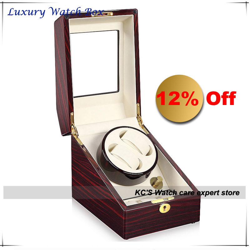 Quality 3+2 Double Automatic Watch Box for RLX Watch Winder Japan Motor Best Christmas Birthday Father Day Gifts GC03-S24EW