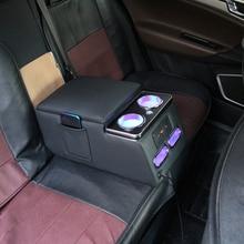 Лояльность для заднего сиденья многофункциональный подлокотник коробка центральный магазин хранения данных коробка с USB и светодиодный светильник аксессуары для автомобиля