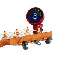 Eno ET-39 professionnel pince accordeur numérique pour guitare/basse/ukulélé/violon/chromatique écran couleur grand LCD 360 degrés