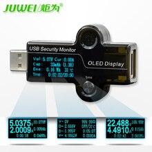 HiDANCE USB OLED Metros Cargador de Corriente del amperímetro del voltímetro del probador del monitor de seguridad de suministro de energía móvil de detección de la capacidad