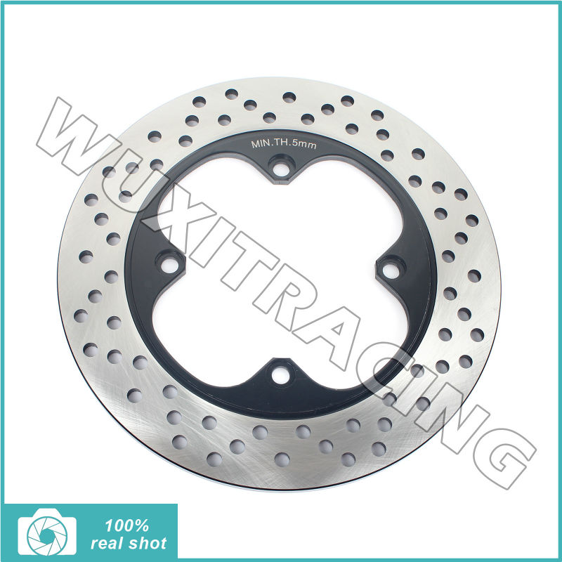 Round New Rear Brake Disc Rotor for Honda NSR 250 RR 94-99 RVF 400 RR 94-96 VFR 400 ProArm 91-94 VFR 400 R NC30  III 1991 1992 94
