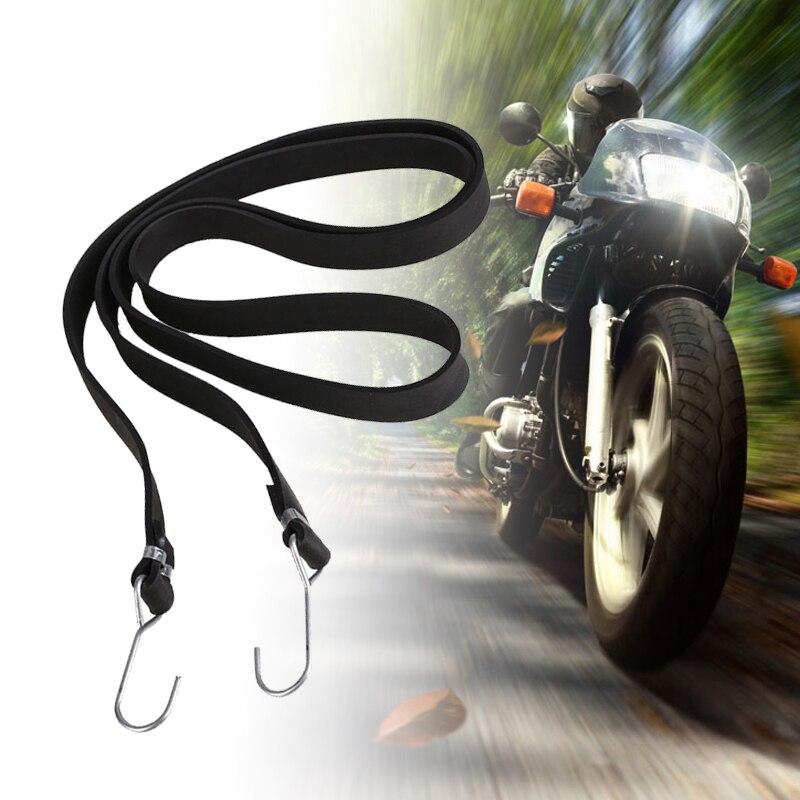 Universale 2 M Moto Bagaglio Cinghia Della Maglia Fisso Fibbia Elastica Corda Netto Casco Moto Dalla Fasciatura Nero Dropshipping Top Angurie