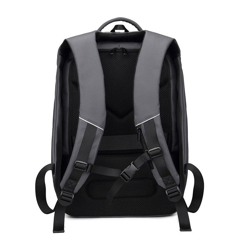 Sac à dos pour ordinateur portable pour homme haut sac à dos multifonctionnel étanche avec Port USB pour voyage en plein air DOG88