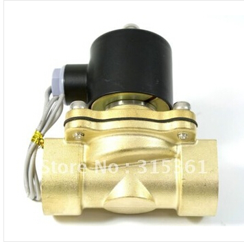 Free Shipping 5PCS Water Air Gas Fuel Solenoid Valve NC 34