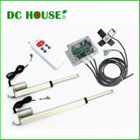 USA Stock 6'' 12'' Linear Actuator with solar controller Dual Axis solar tracking Tracker