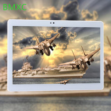 2018 New BMXC 10.1 inch 2.5D screen 4G LTE tablet pc Octa core 1920*1200 HD IPS 4GB 64GB wifi Bluetooth GPS Android 7.0 tablets(China)