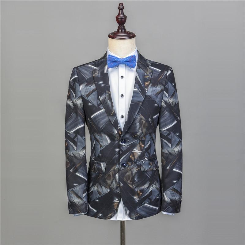NA52 Fashion Suit Groom Tuxedos Stylish Groomsman Suit Custo