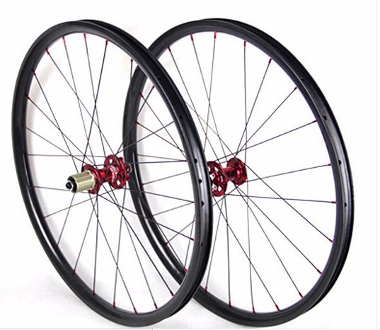 free shipping carbon 26er wheels NOVATEC 791 792 hubs 3K UD matte Mountain Bicycle XC wheelset 26er tubuless wheels MTB wheel