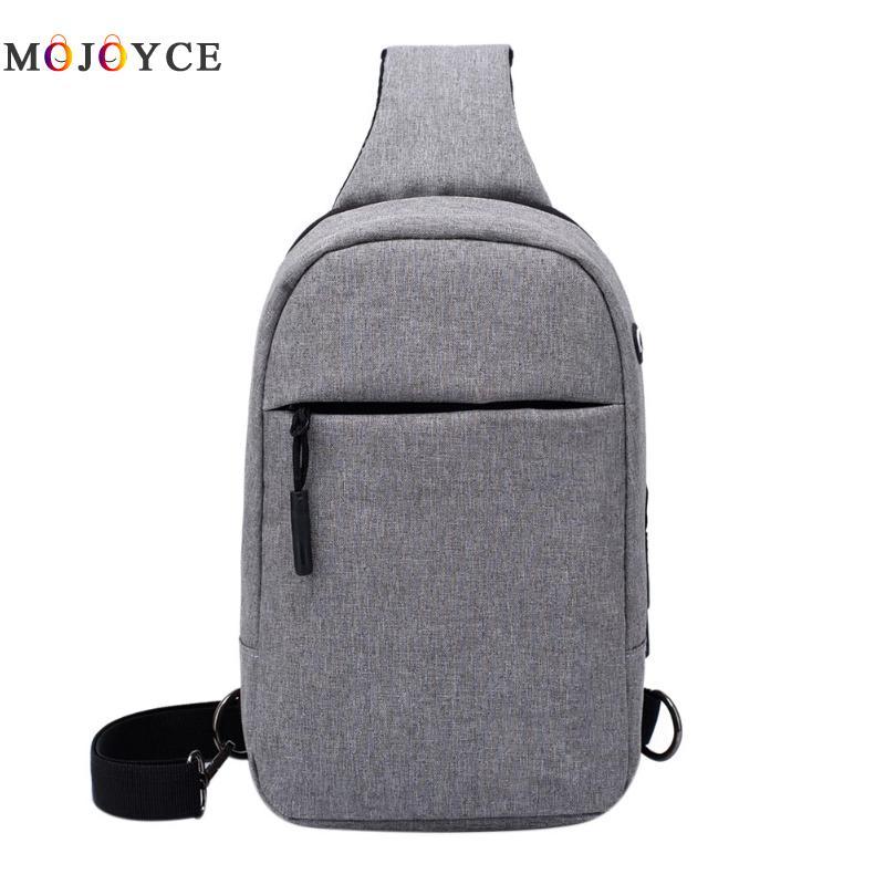 Crossbody Bags for Men Messenger Chest Bag Pack Casual Bag Waterproof Nylon Single Shoulder Strap Pack 2017 New Fashion