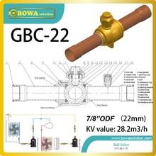 7/8 «тепловой насос шаровой клапан UL/cul и CE сертифицировано и Макс. рабочее давление 700 фунтов на квадратный дюйм.