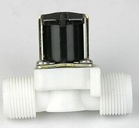 High Quality New 1 2 Male Thread 2 2 Way Solar Energy Latching Pulse Plastic Solenoid
