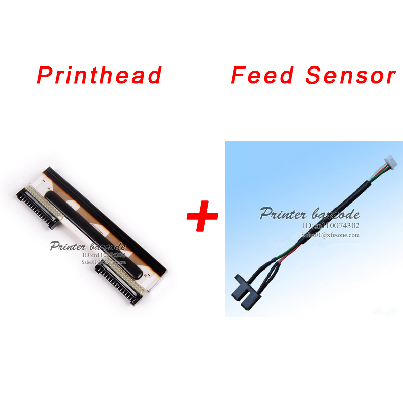 For Mettler Toledo Tiger 8442 Scale Thermal printhead Print head+Feed Sensor,Printer part aaa new for mettler toledo tiger 8442 x6xx pro main board 3660 electronic scale part electronic scale accessories