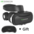 Mais novo google papelão vr vr óculos shinecon 4.0 realidade virtual 3d caixa com fone de ouvido bluetooth para 4.5-6.0 polegada smartphones