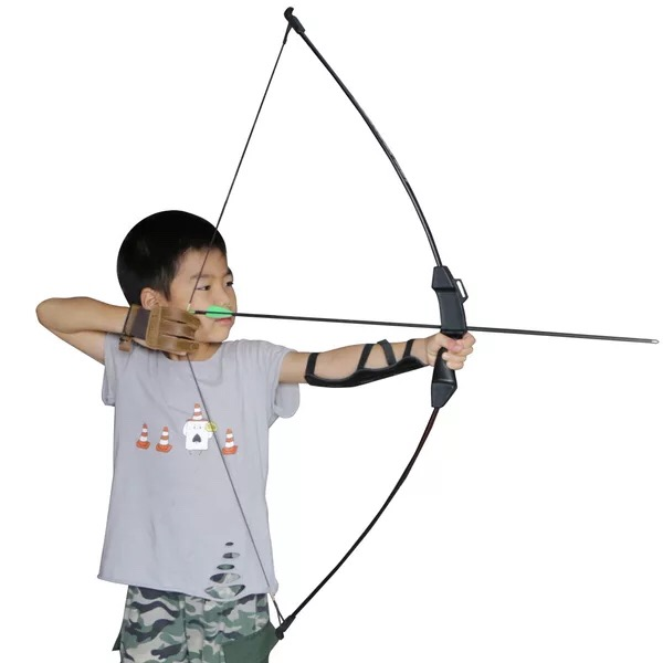 New 15 Ibs Recurve Bow Archery Youth Training Toy Children Bow Archery Shooting  Practice