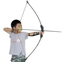 Novo 15 ibs recurvo arco tiro com arco de treinamento da juventude brinquedo crianças arco tiro com arco prática|Arco e flecha|Esporte e Lazer -