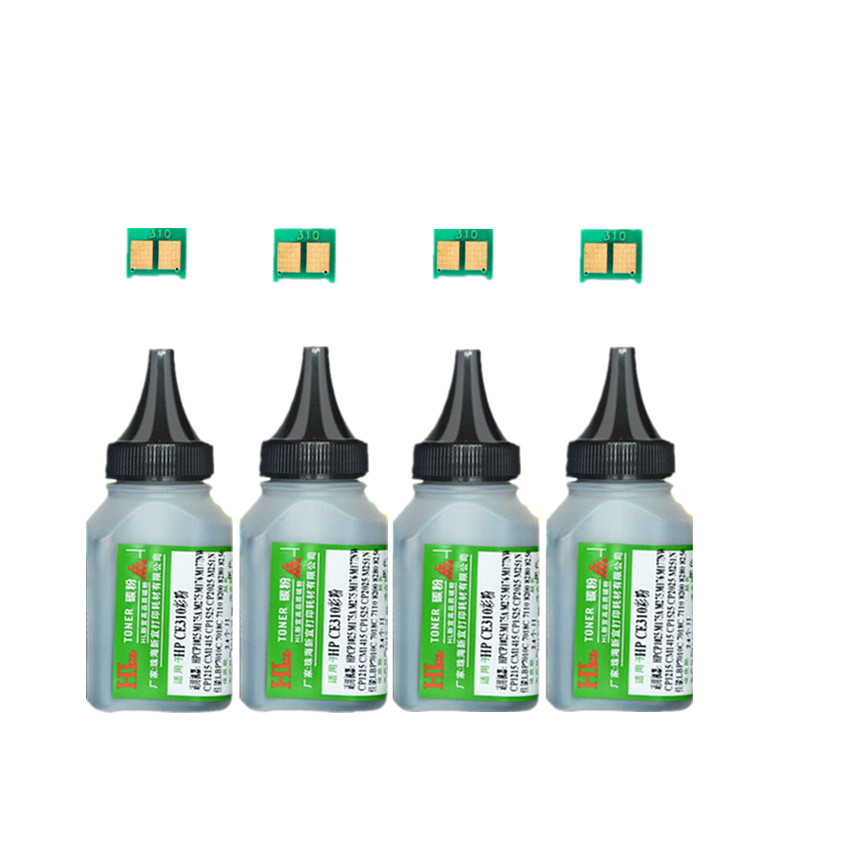 4 black CF400A Color <font><b>Toner</b></font> Powder + 4 BLACK chip Compatible FOR <font><b>HP</b></font> LaserJet Pro M252dn 252n <font><b>M277dw</b></font> 277n M274n <font><b>Printer</b></font> image