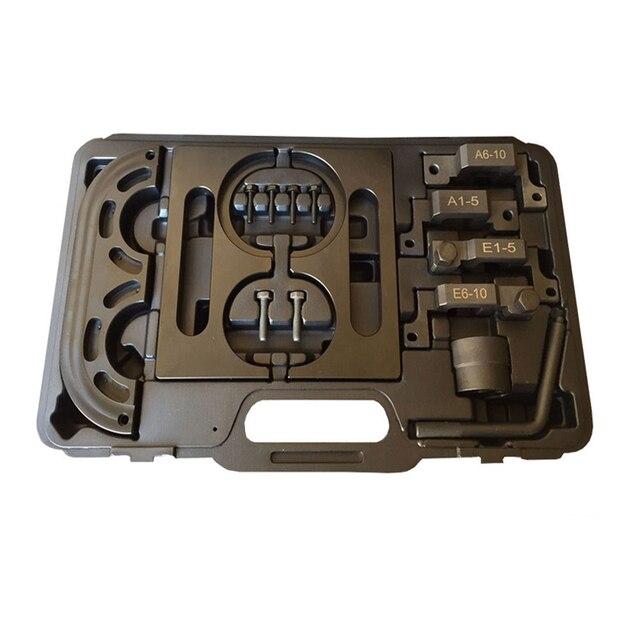 15 PCS para BMW E60 M5 E63 M6 mestre Camshaft alinhamento do motor Tool Kit