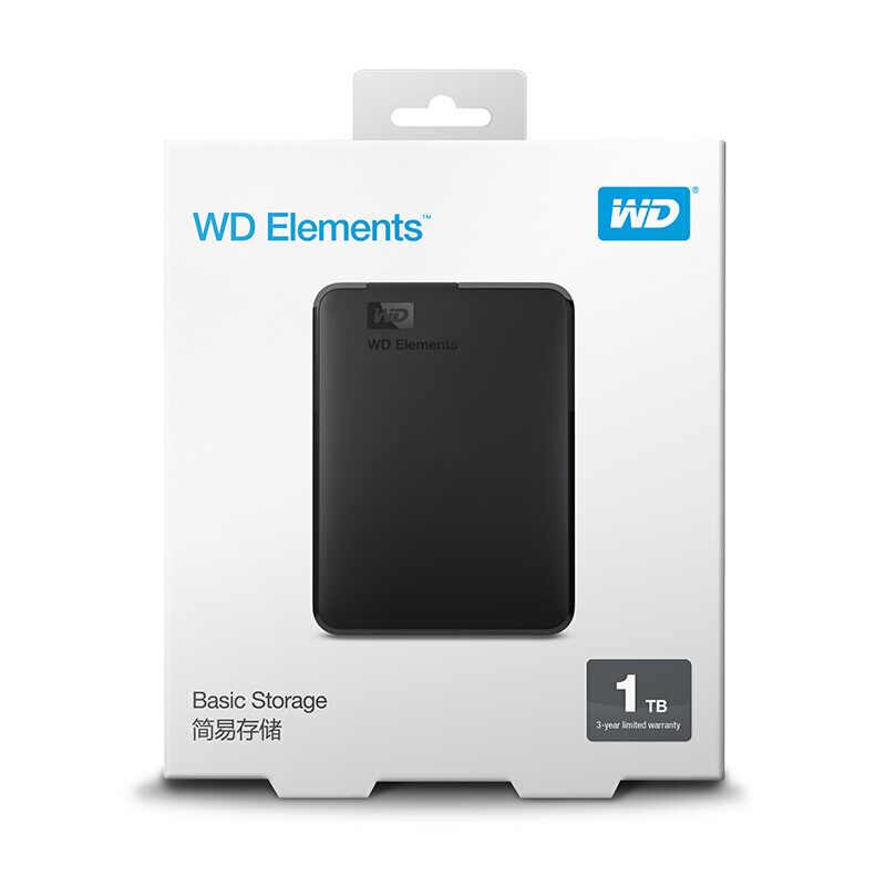 WD 要素 500 ギガバイトのポータブル外部ハードドライブのディスクの Usb 3.0 HD HDD 容量 SATA ストレージデバイスオリジナルコンピュータ PC PS4 テレビ