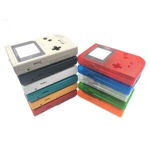 Image 5 - 15 ensembles boîtier avec tampon en caoutchouc conducteur en silicone pour Gameboy Game Boy classique Original GB Console boîtier coque housse
