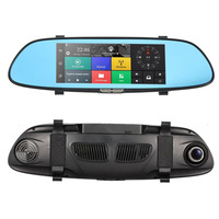 New Auto HD 1080P 7 Inch Screen Display Video Recorder G Sensor Dash Cam Rearview Mirror
