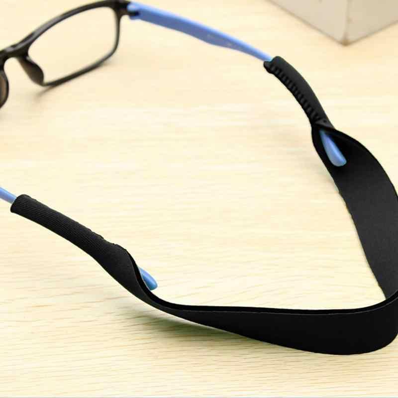 Óculos de grau antiderrapantes, óculos esportivos com corda elástica, 4 cores, 33.5cm