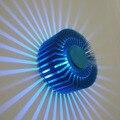 Modern Fan Star LED Wall Light Sconces Decor Fixture Lights Lamp Bar Party Gallery Bedroom Decoration Ceiling Light FULI