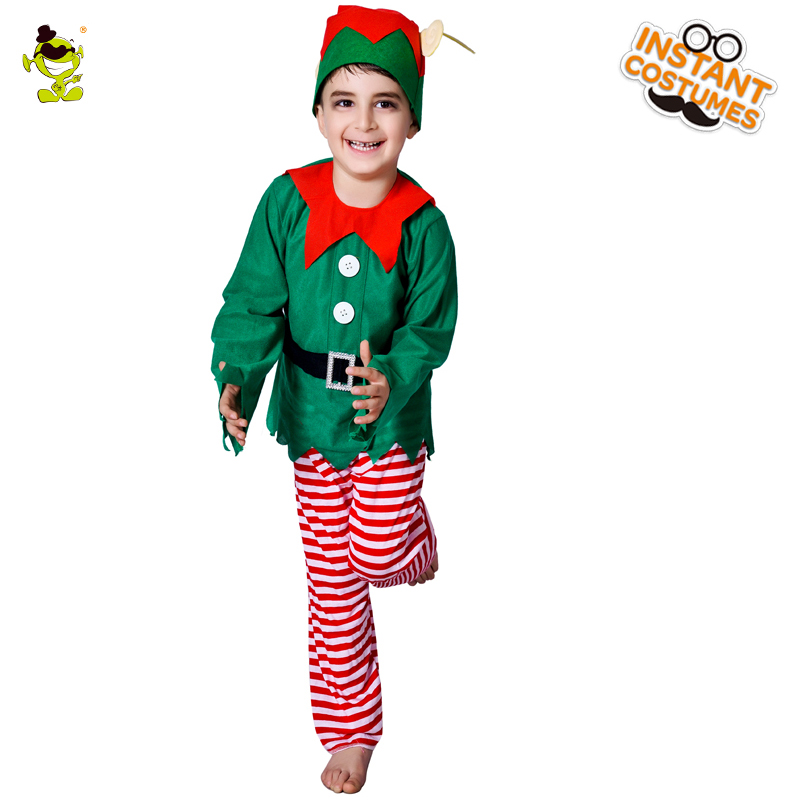 Smart Green Elf Costumes Little Boys Christmas Carnival Party Forest Fairy Imitation Fancy Dress for Children-in Boys Costumes from Novelty u0026 Special Use on ...  sc 1 st  AliExpress.com & Smart Green Elf Costumes Little Boys Christmas Carnival Party Forest ...